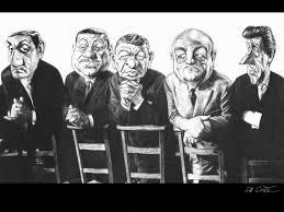 """Résultat de la recherche d'images pour """"caricatures de la bande des cinq truands"""""""
