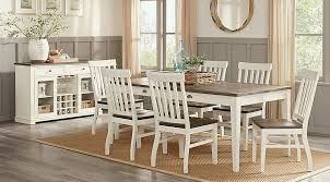 Keston White 7 Pc Rectangle Dining Room Dining Room Sets Colors