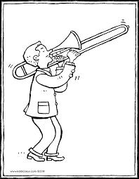 Trombonespeler Kiddicolour