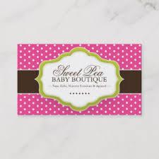 Baby Boutique Business Cards Zazzle