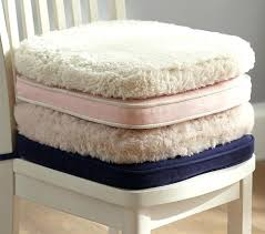 blue and white chair pads top desk chair cushions pottery barn kids within white chair pads