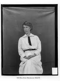 165 Miss Elsie Mackenzie MACF6   Gostalgia: local history from ...