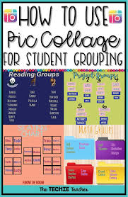How To Use Piccollage For Student Grouping Create Digital