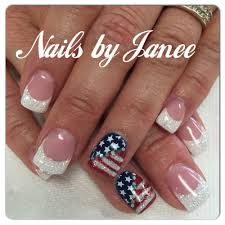 Gel Nail Designs For 4th Of July 4th Of July Nails By Janee Awildhairsalonreno Nails For