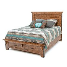 distressed wood bed.  Distressed Urban Rustic Distressed Wood Bed And