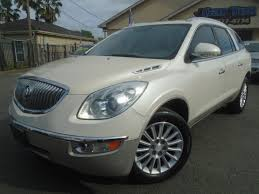 Buick Enclave Running Lights Not Working Cartex Used 2008 White Buick Enclave For Sale In Houston