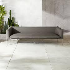 novara grey outdoor sofa