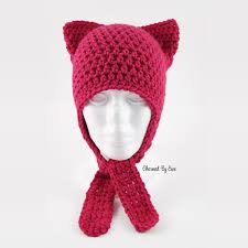 Cat Hat Crochet Pattern Extraordinary Cat Hat Charmed By Ewe