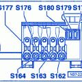 volkswagen new beetle fuse box block circuit breaker diagram volkswagen beetle 2006 battery fuse box block circuit breaker diagram