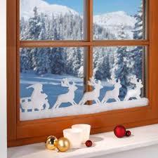 Weihnachtliche Fensterdeko Rentiere 18 Cm Hoch 19 M Lang