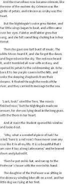 Реферат Сравнительный анализ перевода на примере сказки О  Сравнительный анализ перевода на примере сказки О Уайльда quot Соловей и