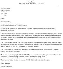 Introductory Letter Interior Design Introductory Letter Example