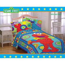 elmo twin sheet set sesame street comforter set with valance 11527352 overstock elmo