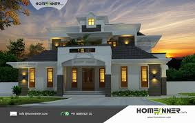 premium luxury villa kerala traditional with modern architecture home design