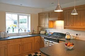Sleek Large U Shaped Kitchen With Island