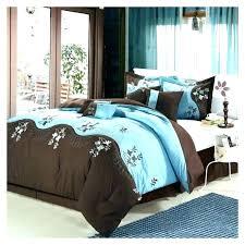 brown and teal comforter sets bedding blue tan black cream king crib