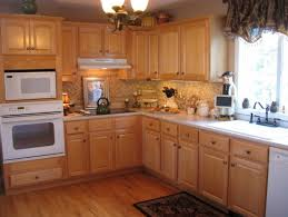 Kitchen Colors With Light Wood Cabinets Impressive Inspiration Design