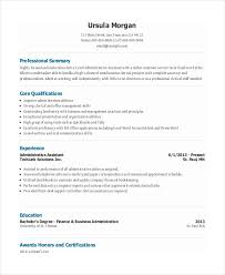 Entry Level Resume Template Free Functional Resume Template For Administrative Assistant 10 Entry