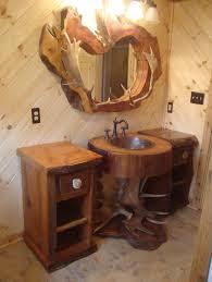 Barnwood Bathroom Bathroom Cheap Rustic Bathroom Vanity Set With Black Marble Top