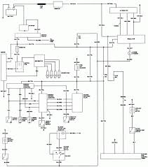 Toyota pickup wiring diagram stereo alternator headlight 1983