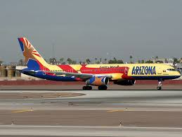 america west airlines aircraft at phoenix sky harbor int photo
