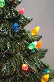 Ceramic Christmas Tree Light By PandACeramics On Etsy 9999 Ceramic Tabletop Christmas Tree With Lights