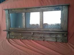 Mirror Coat Rack Pallet Mirrored Coat Rack 41