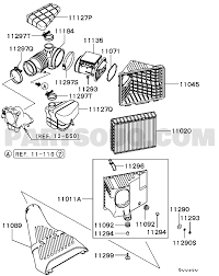15 010 intake exhaust air cleaner