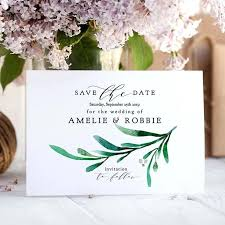 Free Save The Date Birthday Templates Save The Date Card Template