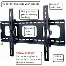 tv wall mount bracket 87 off anti theft duronic tvb103m black universal lcd led