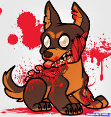 Small Picture How to Draw a Zombie Puppy Zombie Puppy Step by Step Zombies