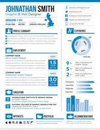 ... Bold Design Visual Resume Templates 6 Free Template 2014 Features  Stunning ...