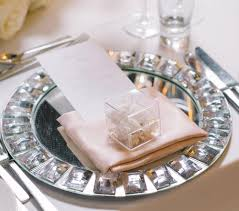 mirror charger plate
