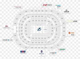 Lightning Seating Chart Tampa Bay Lightning Seating Map Circle Hd Png Download