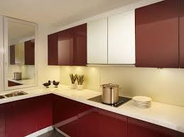 Lacquer Door Kitchen Cabinet Modern Style Home Design And Decor Ideas