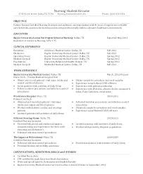 Resume Examples Objective Nursing Objectives For Resume Objectives
