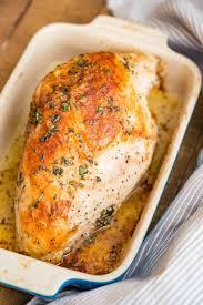 Roasted Turkey Breast Dinner Then Dessert