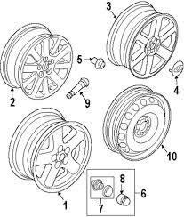Genuine land rover wheel alloy ran rrc500242mnh