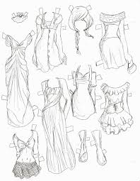 b840a6a147711be0e0f03d0920f0b03a paper doll template description hand drawn paper doll pinteres on young anime girl template