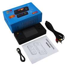 Máy chơi game 4 nút cầm tay mini 500 trò retro nhỏ gọn phím nhạy có thêm  tay cầm cho 2 người chơi kết nối TV - Máy chơi game - Console