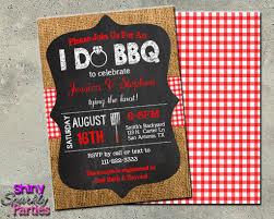 I Do Bbq Invitation Engagement Party Invite