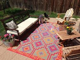 63 best outdoor rugs images on rv patio rug