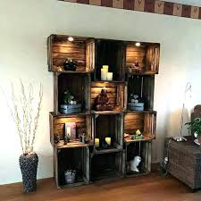 living room nice wooden crate shelves 26 bathroom so pretty with the stain and those living room nice wooden crate shelves