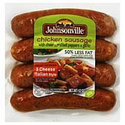 johnsonville 3 cheese italian style en sausage