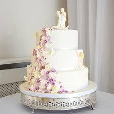 Sugar Flower Wedding Cakes Newbury Cake Lace Weddings