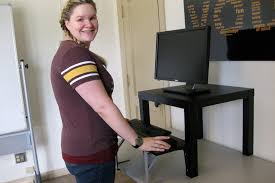 convert your traditional desk to a stand desk for less than 25