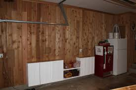 Plywood Plank Ceiling Cedar Planking The Garage The Cavender Diary