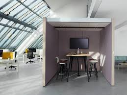 office meeting pods. Interesting Office Acoustic Meeting Pod With Builtin Lights NOOXS THINK TANK Throughout Office Meeting Pods
