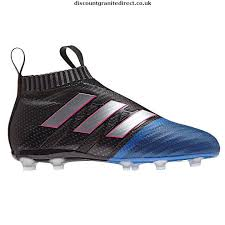adidas laceless boots. adidas ace 17+ purecontrol fg laceless football boots junior - new black/wht/blue 8941201