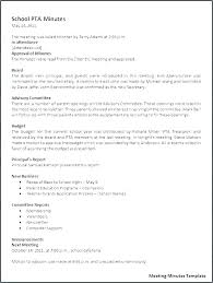 Format For Minutes Writing Sample Meeting Minutes Template